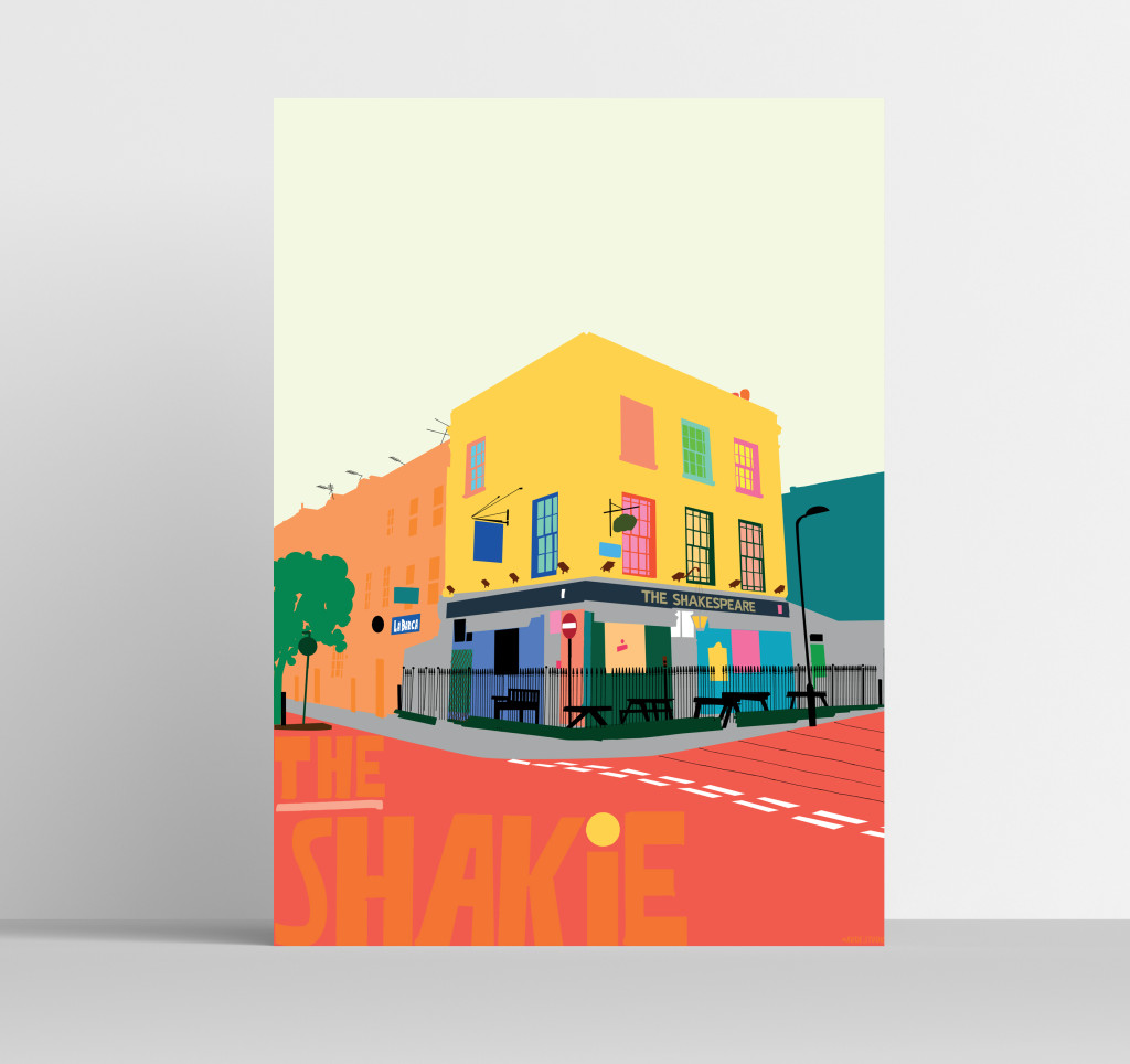 A3 Shakie Art Print Visual