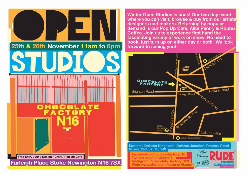 Open Studios Flyer